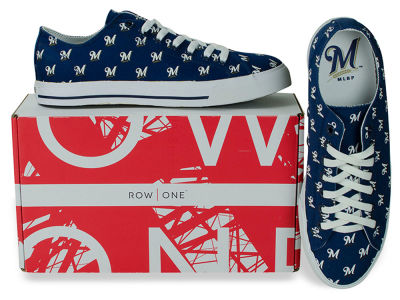 Milwaukee Brewers Row One MLB Victory Sneakers