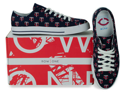 Minnesota Twins Row One MLB Victory Sneakers