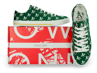 Oakland Athletics Row One MLB Victory Sneakers