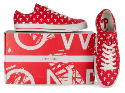 Philadelphia Phillies Row One MLB Victory Sneakers