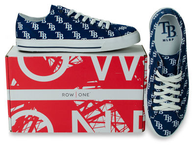 Tampa Bay Rays Row One MLB Victory Sneakers