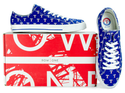 Texas Rangers Row One MLB Victory Sneakers