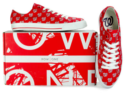 Washington Nationals Row One MLB Victory Sneakers