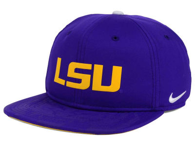 LSU Tigers Nike NCAA 4.0 Hook Snapback Cap