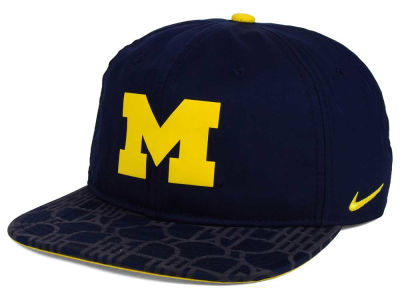 Michigan Wolverines Nike NCAA 4.0 Hook Snapback Cap