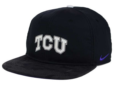 Texas Christian Horned Frogs Nike NCAA 4.0 Hook Snapback Cap