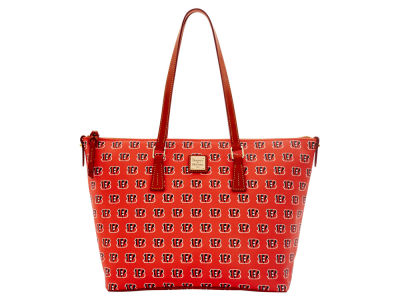 Cincinnati Bengals Dooney & Bourke Zip Top Shopper
