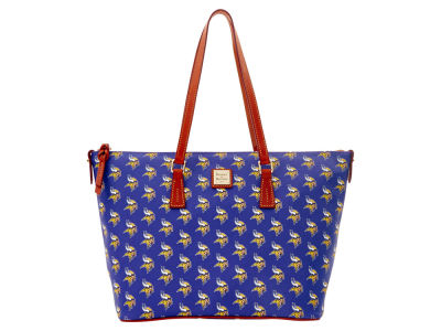 Minnesota Vikings Dooney & Bourke Zip Top Shopper