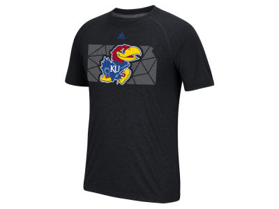 Kansas Jayhawks adidas NCAA Men's Geometric Flow T-Shirt