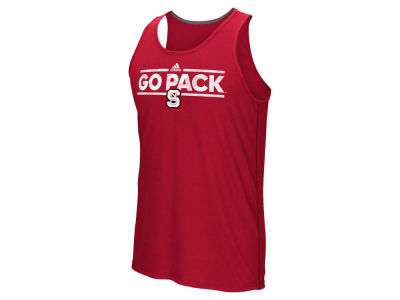 North Carolina State Wolfpack adidas NCAA Men's Dassler Tactical Tank