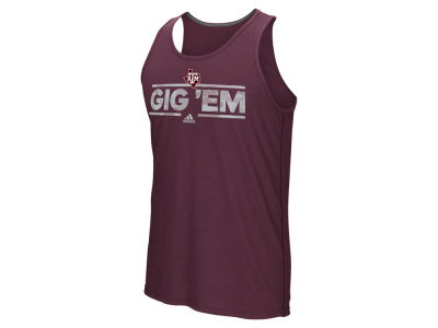 Texas A&M Aggies adidas NCAA Men's Dassler Tactical Tank