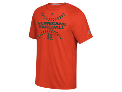 Miami Hurricanes adidas NCAA Men's Big Stitches T-Shirt