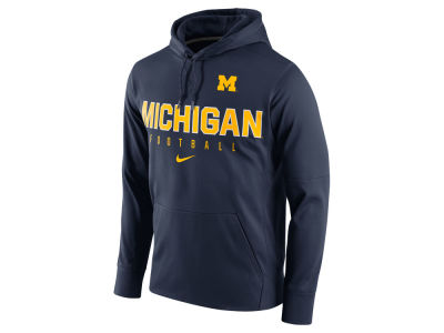 Michigan Wolverines Nike NCAA Men's Circuit Performance Hoodie