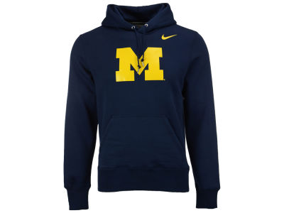 Michigan Wolverines Nike NCAA Men's Cotton Logo Hoodie