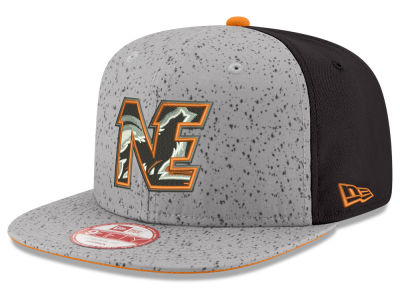 New England Black Wolves New Era NLL 2016 Draft 9FIFTY Snapback Cap
