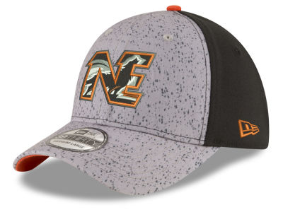 New England Black Wolves New Era NLL Draft 39THIRTY Cap
