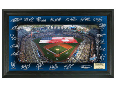 Los Angeles Dodgers Team Signature Field