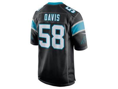 Carolina Panthers Thomas Davis Nike NFL Men's Game Jersey
