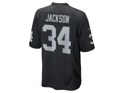 Oakland Raiders Bo Jackson Nike NFL Retired Game Jersey