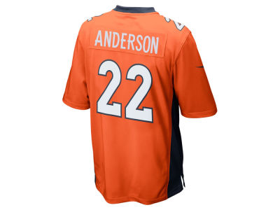 Denver Broncos CJ Anderson Nike NFL Men's Game Jersey