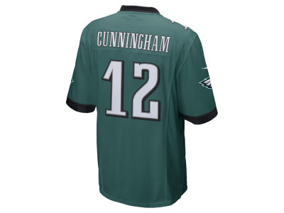 Philadelphia Eagles Randall Cunningham Nike NFL Retired Game Jersey