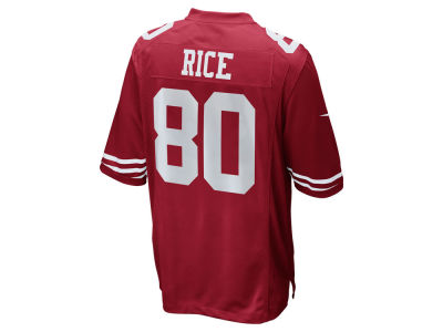 San Francisco 49ers Jerry Rice Nike NFL Retired Game Jersey