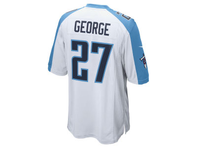 Tennessee Titans Eddie George Nike NFL Retired Game Jersey