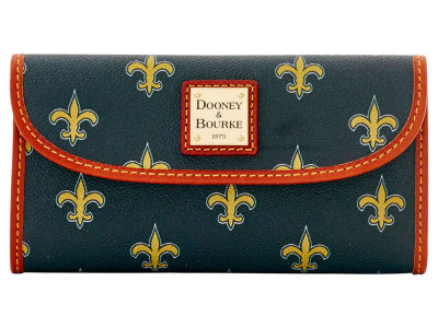 New Orleans Saints Dooney & Bourke Continental Clutch
