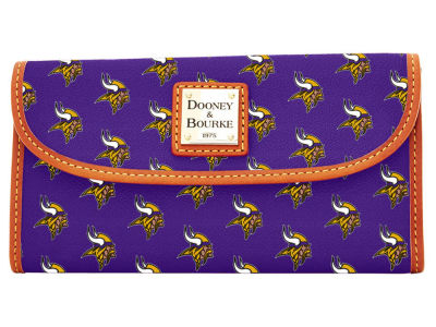 Minnesota Vikings Dooney & Bourke Continental Clutch