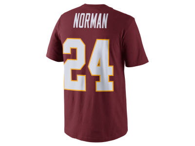 Washington Redskins Josh Norman Nike NFL Men's Pride Name and Number T-Shirt