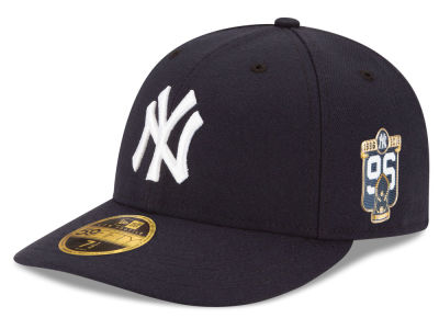 New York Yankees New Era 2016 MLB 20th Anniversary World Series Patch 59FIFTY Cap