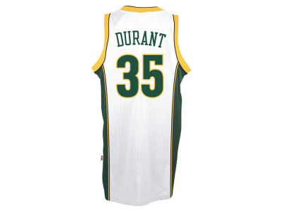 Seattle SuperSonics Kevin Durant adidas NBA HWC Men's Player Swingman Jersey