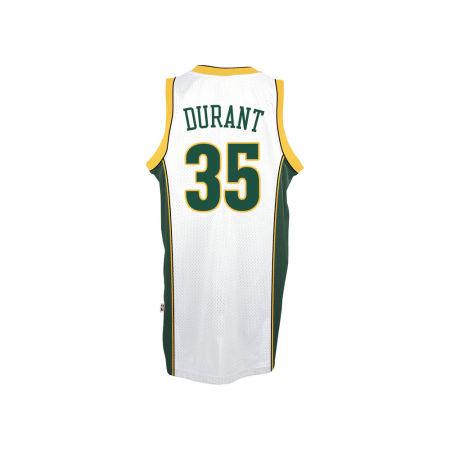 Seattle SuperSonics Kevin Durant Adidas NBA HWC Men's Player Swingman Jersey