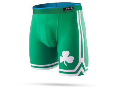 Boston Celtics Stance NBA Men's Del Mar Boxer Briefs