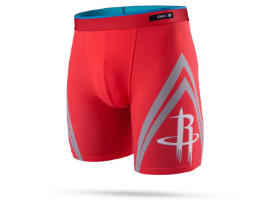 Houston Rockets Stance NBA Men's Del Mar Boxer Briefs