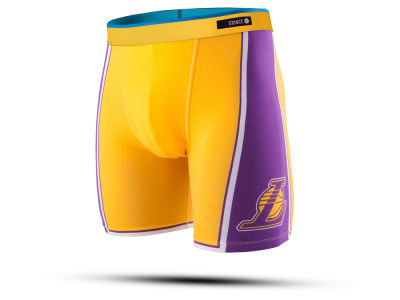 Los Angeles Lakers Stance NBA Men's Del Mar Boxer Briefs
