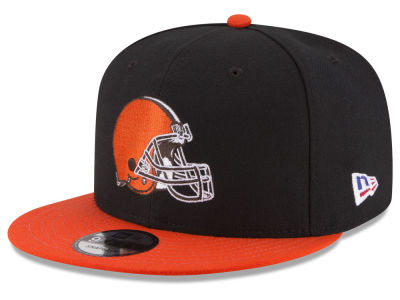 Cleveland Browns NFL Crafted in America 9FIFTY Snapback Cap