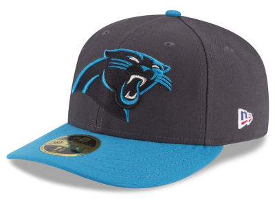 Carolina Panthers NFL Crafted in America 59FIFTY Cap