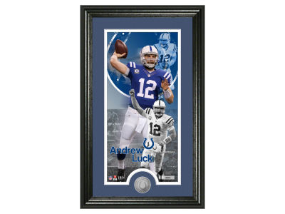 Indianapolis Colts Andrew Luck Supreme Bronze Coin Photo Mint