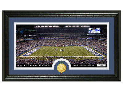 "Indianapolis Colts ""Stadium"" Bronze Coin Photo Mint"