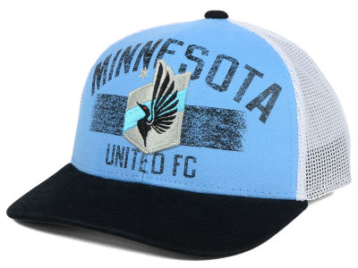 Minnesota United FC adidas MLS Truckn Adjustable Cap