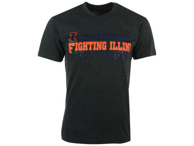 Illinois Fighting Illini 2 for $28 NCAA Men's Verbiage Stack T-Shirt