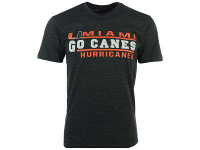 Miami Hurricanes NCAA 2 for $25 NCAA Men's Verbiage Stack T-Shirt