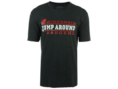 Wisconsin Badgers 2 for $28 NCAA Men's Verbiage Stack T-Shirt