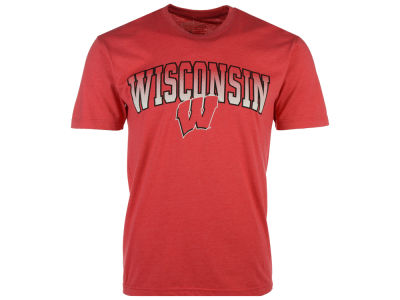 Wisconsin Badgers NCAA 2 for $25 NCAA Men's Gradient Arch T-Shirt