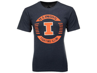 Illinois Fighting Illini NCAA 2 for $25 NCAA Men's Circle Logo T-Shirt