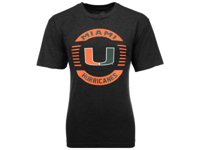 Miami Hurricanes NCAA 2 for $25 NCAA Men's Circle Logo T-Shirt