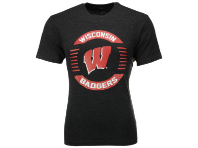 Wisconsin Badgers NCAA 2 for $25 NCAA Men's Circle Logo T-Shirt