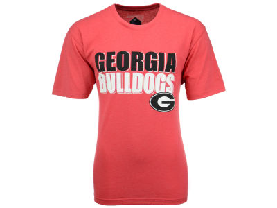 Georgia Bulldogs NCAA Men's Wordmark Stack T-Shirt