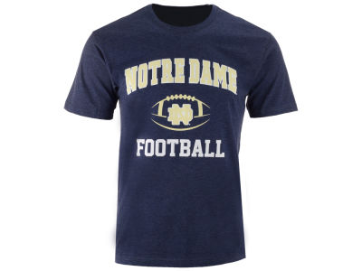 Notre Dame Fighting Irish NCAA Men's Football Arch Logo T-Shirt